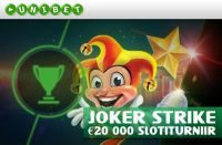 Joker Strike´i slotiturniir