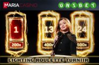 OSALE LIGHTING ROULETTE €15 000 TURNIIRIL