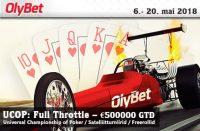 UCOP: Full Throttle Satelliit turniirid Satelliit turniirid olybet ucop full throttle pokker freeroll boonused 1 200x131