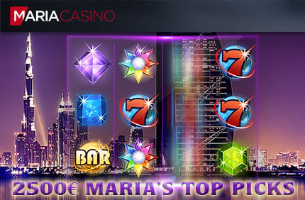 MARIA'S TOP PICKS maria's top picks MARIA'S TOP PICKS €10 000 SLOTITURNIIR top picks maria kasiino boonused 1